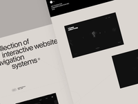 Interactive website navigation systems © 2016 – 2019