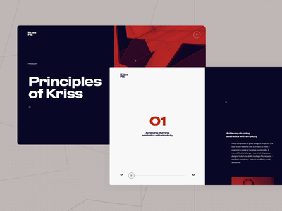Kriss Re. experience ② minimal clean animated experience landing page web  design design user experience uxui ui ux typography landing interaction interactive motion design animation motion website web