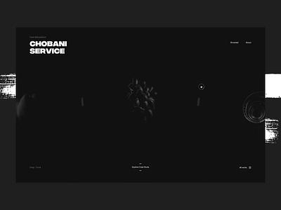2019 Portfolio Alive 🖤 slider dark typography simple design interaction case study homepage portfolio ui ux experience motion animation interactive clean minimal landing web website