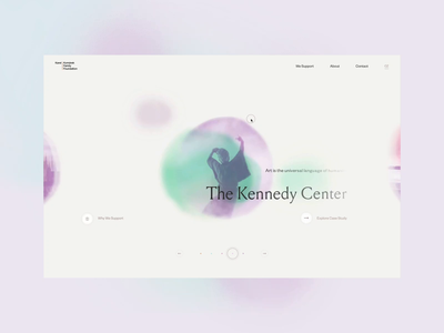 Komarek Foundation website – Programs navigation illustrated illustration webdesign interaction drag slider landing page motion ui animation typography interactive clean minimal landing ux web website