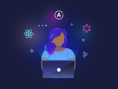 Engineer Website Illustration