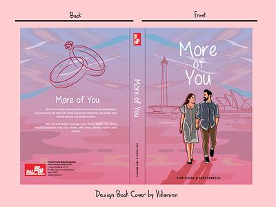 Book Cover Illustration - Romance Novel coverillustration illustration art vector illustration illustration bookcover coverbook graphic design