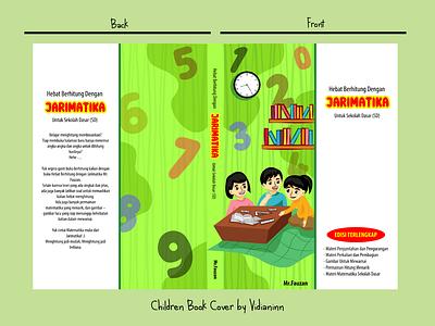 Children Book Cover - Mathematics Book book cover illustration art vector illustration children illustration children book graphic design cover illustration
