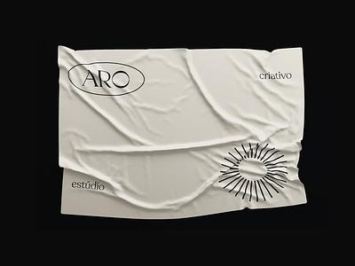 ARO – Flag minimalist design fashion 3d flag