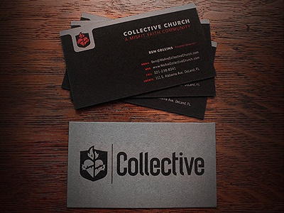 Collective card dribbble