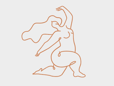 Woman hands branding nude vector logo design icon illustration woman logo body girl woman illustration woman