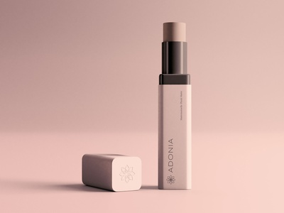 Adonia Brand Packaging beauty product brand packaging packaging design cosmetics logotype minimal logo logo design beauty logo flower logo brand design brand identity branding cosmetic packaging cosmetics logo