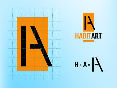 HABITART Logo Design brand logodesign icon branding brand identity design logo vector