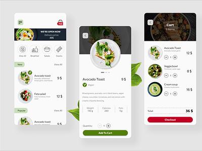 Food Delivery App Design food delivery mobile application mobile app design mobile app mobile ui mobile design mobile food and drink food app food appux ui appui app ux design