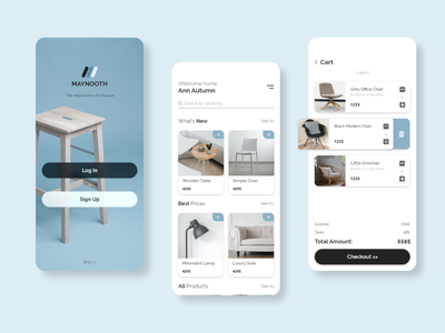 Furniture Store App design furniture furniture design furniture store furniture app shopapp store app appux appui app ux ui design