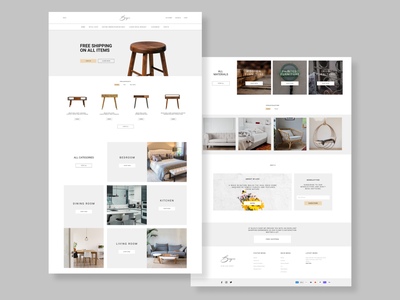 Furniture Online Store Design furniture website furniture store website design web design webdesign website web ui ux design