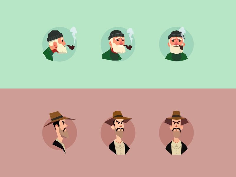 Character Illustrations illustrator ui illustration icon illustration illustraion