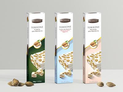 Torrone Di Gennaro food design nougat torrone packaging design packaging mockup package design labeldesign label packaging food illustration food package design packagedesign packaging