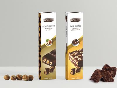 Torrone Di Gennaro label design label packaging mockup packagingdesign packaging package design packagedesign nougat label packaging labeldesign food illustration food design food design