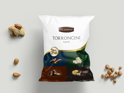 Torroncini Assortiti Di Gennaro illustration design illustration packaging design packaging package design packagedesign label packaging labeldesign food illustration food design food design