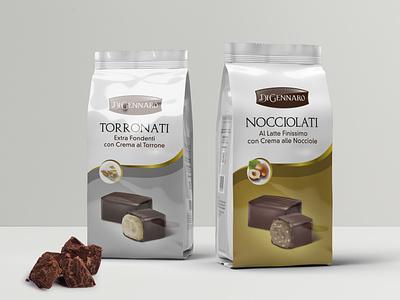 Torronati e Nocciolati Di Gennaro package design packaging packaging mockup packaging design packagedesign label packaging labeldesign food design food design