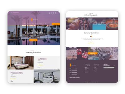 Hng hotel website task 💜 website ux ui luxury brand luxury luxurious hotel