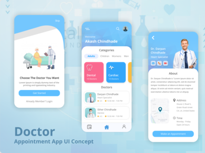 Doctor Appointment App challenge