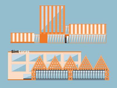 SintLucas | Restyle | Visual Design college student visual design vector illustration animation 2d animation