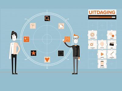 SintLucas | Succes | Visual Design explainer video student 2d explainer animation design visual design vector illustration animation 2d animation