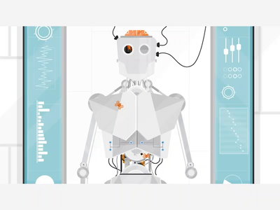 Sioux Technologies   Project development   Animation drone technology explainer video 2d design visual design vector illustration animation 2d animation