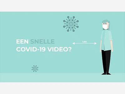 COVID-19 | Video style character coronavirus covid-19 explainer animation explainer video 2d visual design vector illustration animation 2d animation