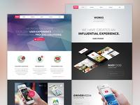 Nuoidea website Design