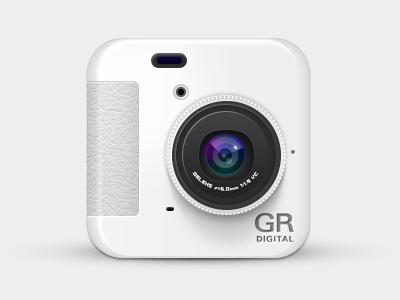 Ricoh GRD IV Icon ricoh grdiv icon