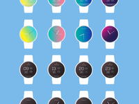 Watchface UI Design