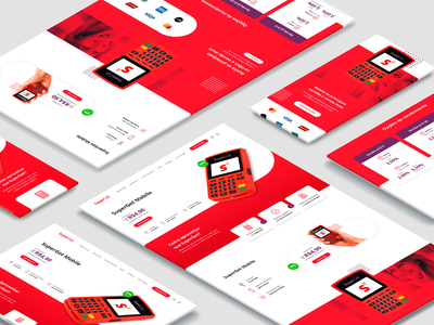 SuperGet - Redesign card machine desafio challenge study course redesign desktop mobile responsive interface ux ui credit card cartão crédito cartão maquininha superget uiboost