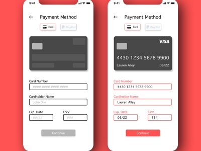"""Daily UI Challenge 002 - """"Credit Card Checkout"""" daily ui ui dailyui daily ui challenge 002 credit card checkout daily ui 002 dailyuichallenge"""