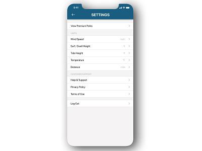 "Daily UI 007 - ""Settings"" ios daily ui 007 settings design app settings settings 007 illustration daily ui challenge app design daily ui ui dailyuichallenge dailyui"