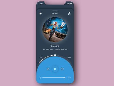 "Daily UI 009 - ""Music Player"" daily ui 009 music app ui music app music player illustration daily ui challenge app design daily ui ui dailyuichallenge dailyui"