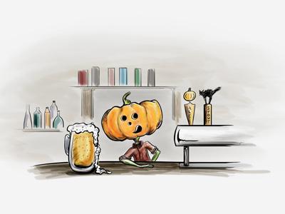 Pumpkin Barkeep