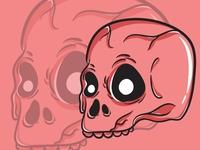 Skull Monster Character Pack 01 designs background flatdesign artwork art cartoon funny cute kawaii magic design vector occult mystic ghost illustration character halloween monster skull