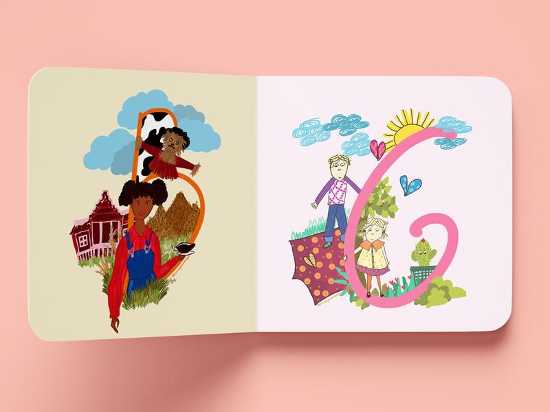 Betty Jane / Charlie and Lola design illustrator illustration colorful characters characterdesign