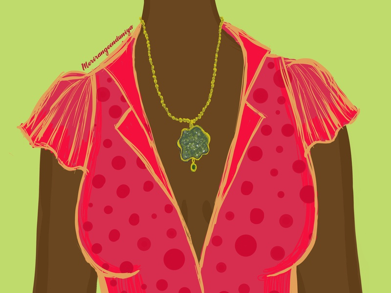 Apatite antique jewellerydesign jewellery design illustrator illustration colorful