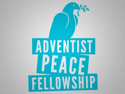 Peace dove olive branch peace adventist bird logo mark