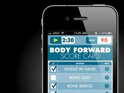 Score Card app