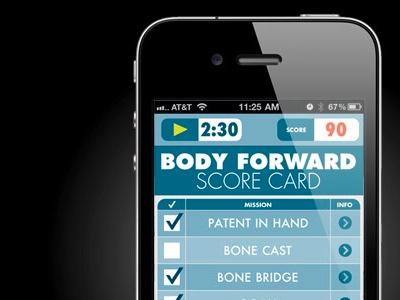 Score Card app iphone app robotics checklist