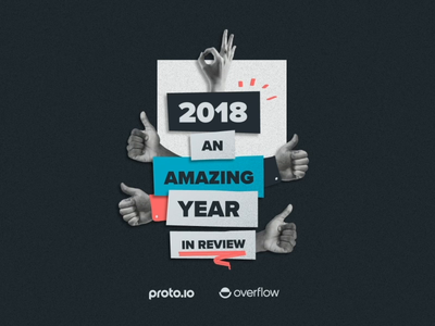 Wrapping Up an Amazing Year proto.io design prototyping ui year in review