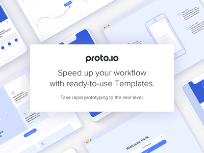 Speed up your workflow with Proto.io's new Templates newfeature prototyping templates proto.io