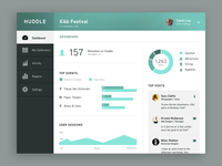Huddle Web Dashboard