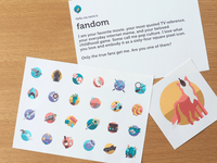 Fandom Icon set