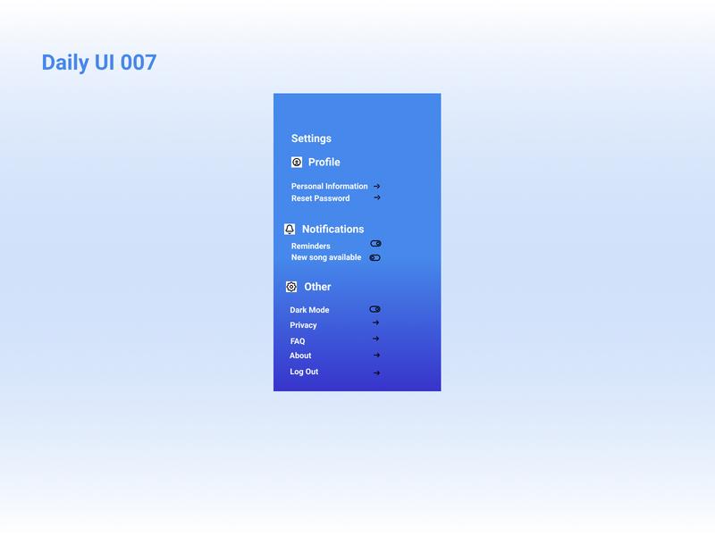 Daily UI 007 ux ui app figmadesign dailyui daily 100 challenge figma