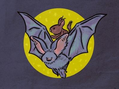 Wings - #mabsdrawlloweenclub halloween art october art digital illustration drawing halloween wings bat artwork illustration