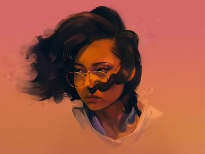 Speed Painting speed painting digital painting sketch portrait painting illustration drawing art