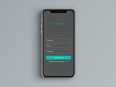 Daily UI 001 - Sign up