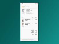 Receipt - Daily UI 17