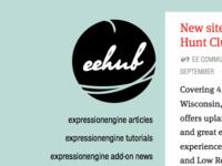 New ee-hub logo